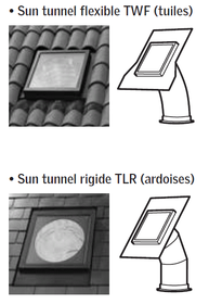 Conduit de lumière Sun Tunnel